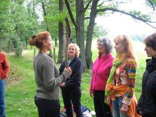 NLP Köln Gruppe im Wald