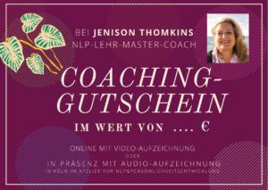 NLP-Coaching Gutschein