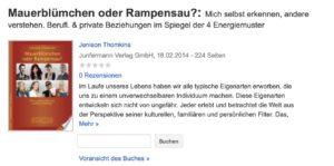 """Blick ins Buch """"Mauerblümchen"""""""