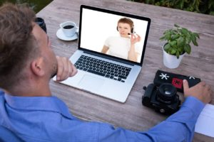 Beispiel für entspanntes Lernen Online